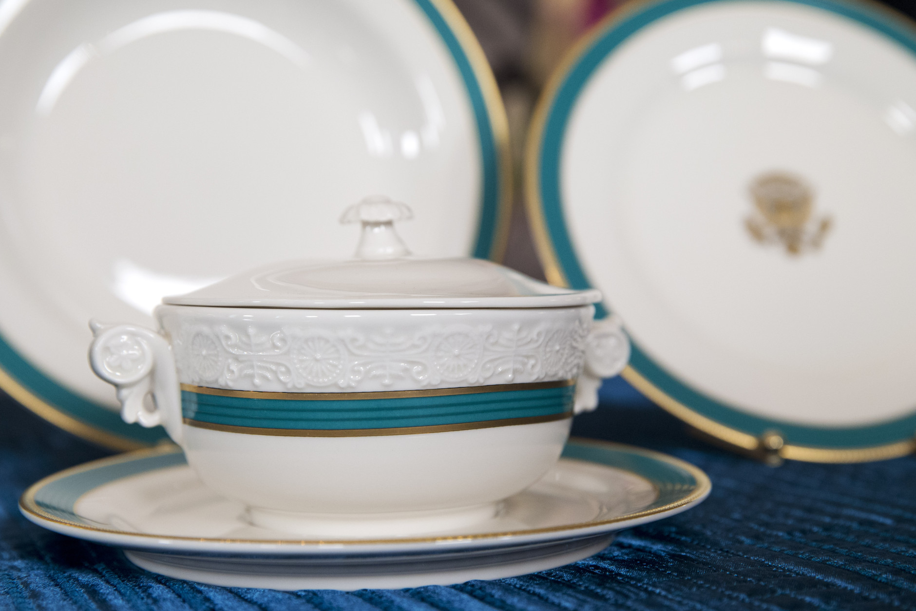 Obama Soup Turenn, Raleigh DeGeer Amyx, White house China
