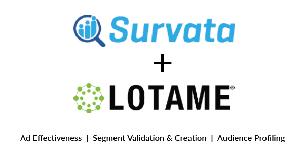 Survata and Lotame