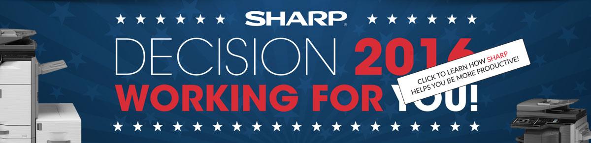 Sharp Decision 2016