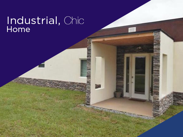 Industrial Chic Home For Sale In Clermont Fl