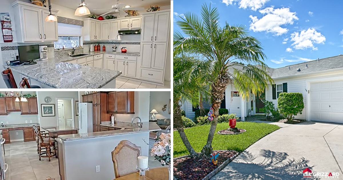 3 featured homes for sale in the villages fl including a