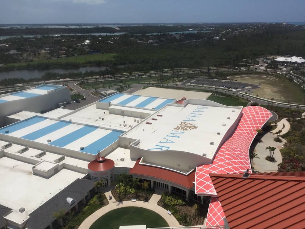Baha Mar Resort Installs Resilient Roof System For
