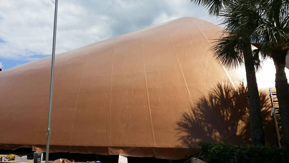 Fibertite Brite Custom Colored Roofing Membrane