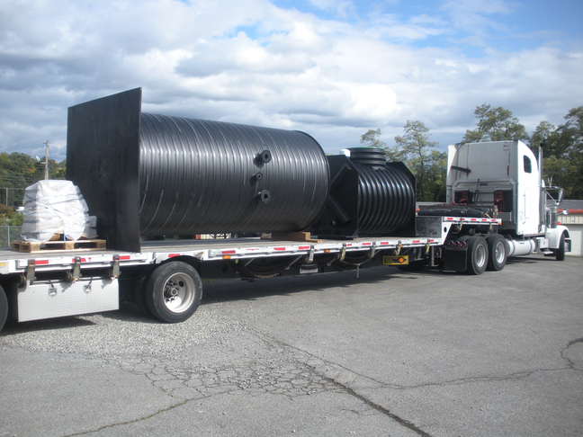 Containerized MWS EveraMOD™ Lift Station & Valve Vault Being Shipped Out- lr
