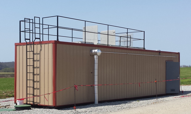 Containerized 5000 GPD Membrane Bioreactor Wastewater Treatment System - lr
