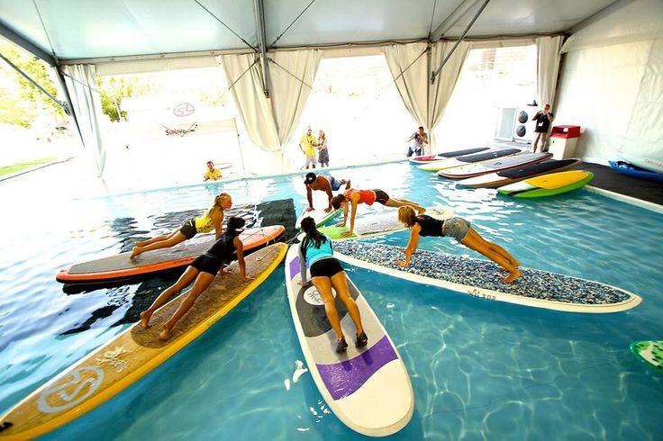 New Trends In Pool Based Yoga Paddle Board Sup Exercises
