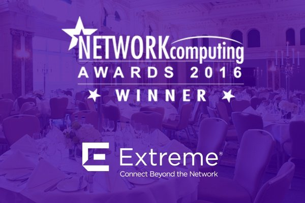 Extreme Networks Scoops Two Awards at Network Computing Awards 2016