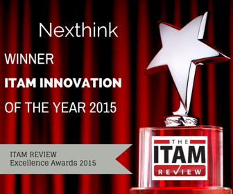 Nexthink V6 Wins Innovation of the Year Award