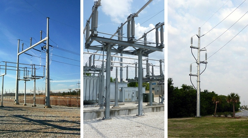 Substation and Transmisison Steel Structures