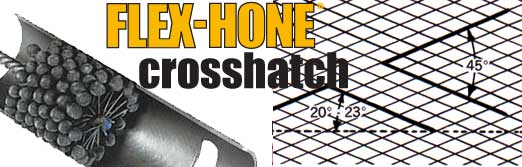 Flex-Hone® Tips: Cylinder Walls and Cross-Hatch Angles