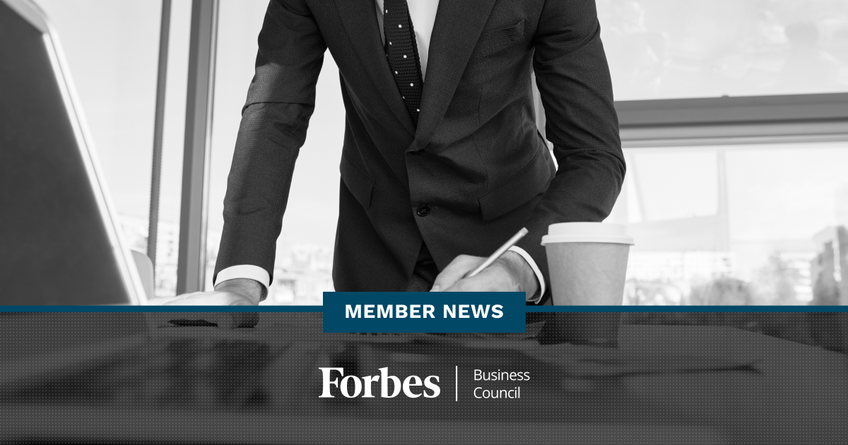 Forbes Business Council Member News - December 2019