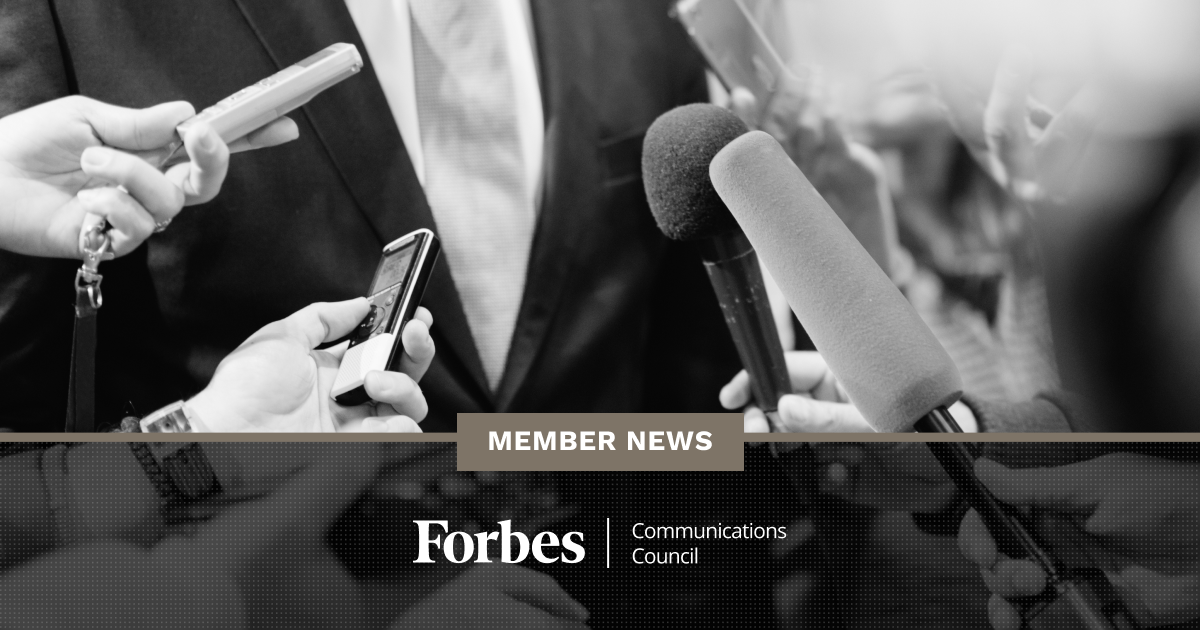 Forbes Communications Council Member News - April 2020