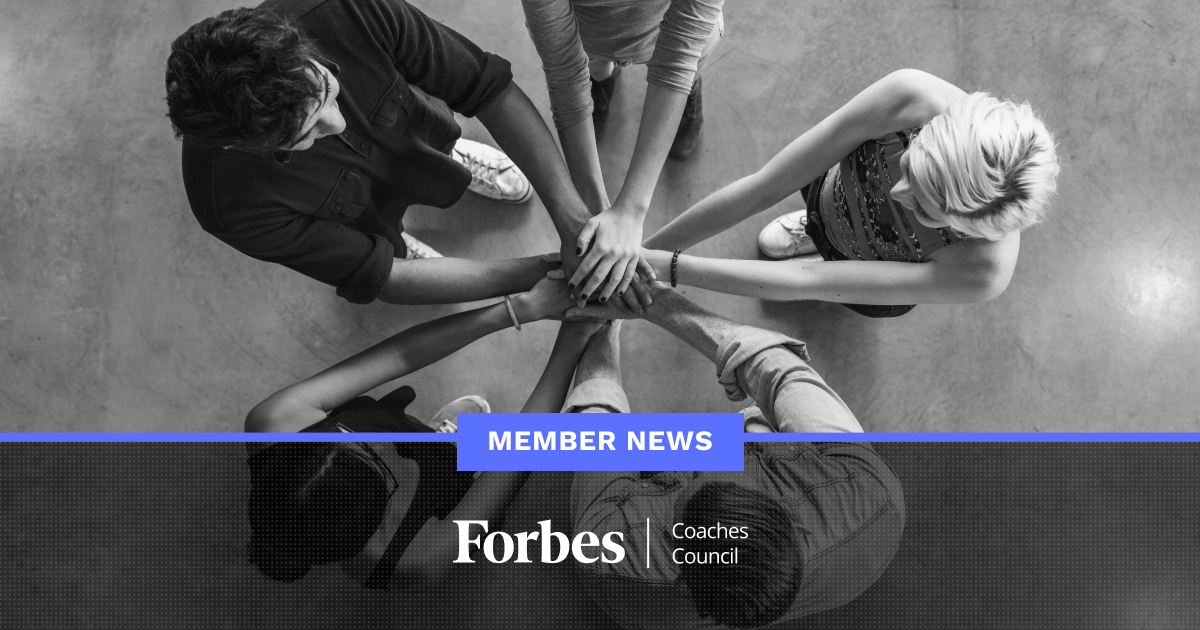 Forbes Coaches Council Member News - January 24, 2020
