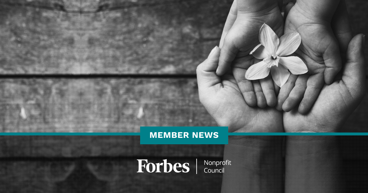Forbes Nonprofit Council Member News - May 2019