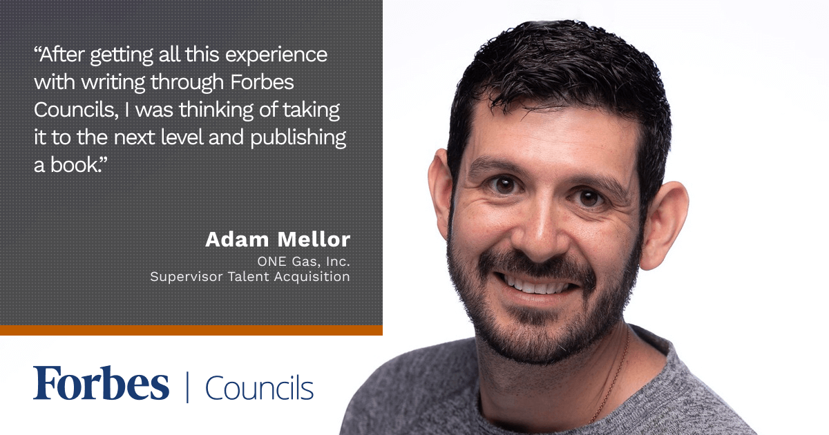 Adam Mellor Built Up His Personal Brand Through Forbes Councils Publishing