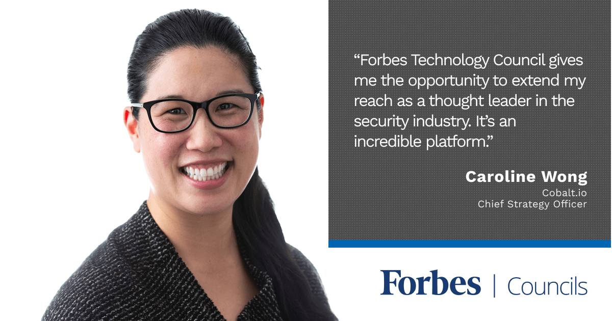 Forbes Councils Expands Caroline Wong's Reach as an Information Security Thought Leader
