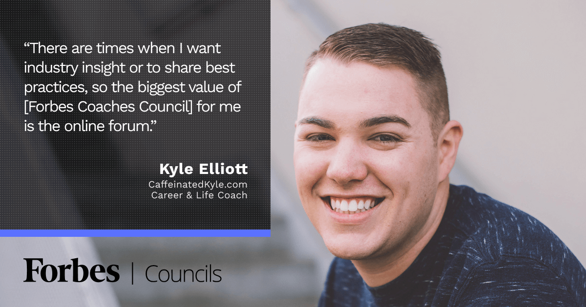 Kyle Elliott Relies on Forbes Councils to Connect With and Learn From Peers