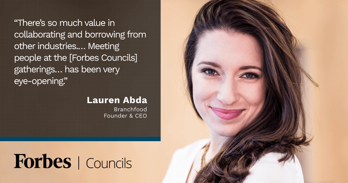 Forbes Councils Events Give Lauren Abda Access to Innovation Outside Her Industry