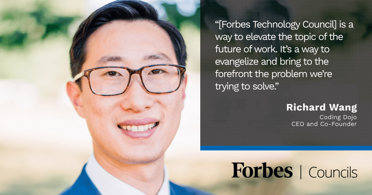 Richard Wang Leverages Forbes Councils to Evangelize His Company's Mission