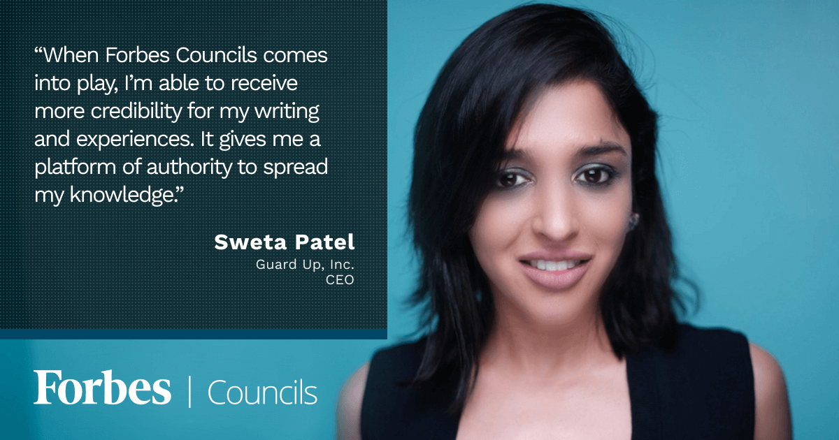 Forbes Councils Gives Sweta Patel an Authoritative Platform to Spread Knowledge