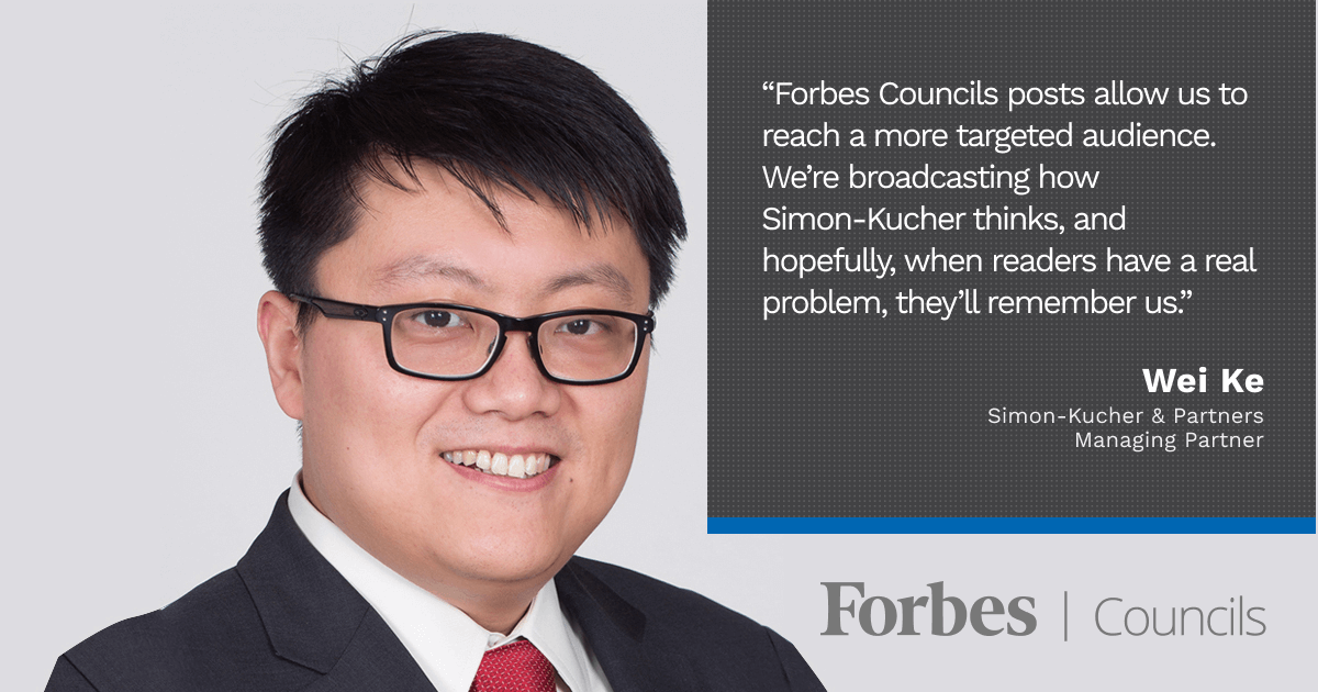 Wei Ke Leverages Forbes Councils as a Knowledge-Sharing Platform
