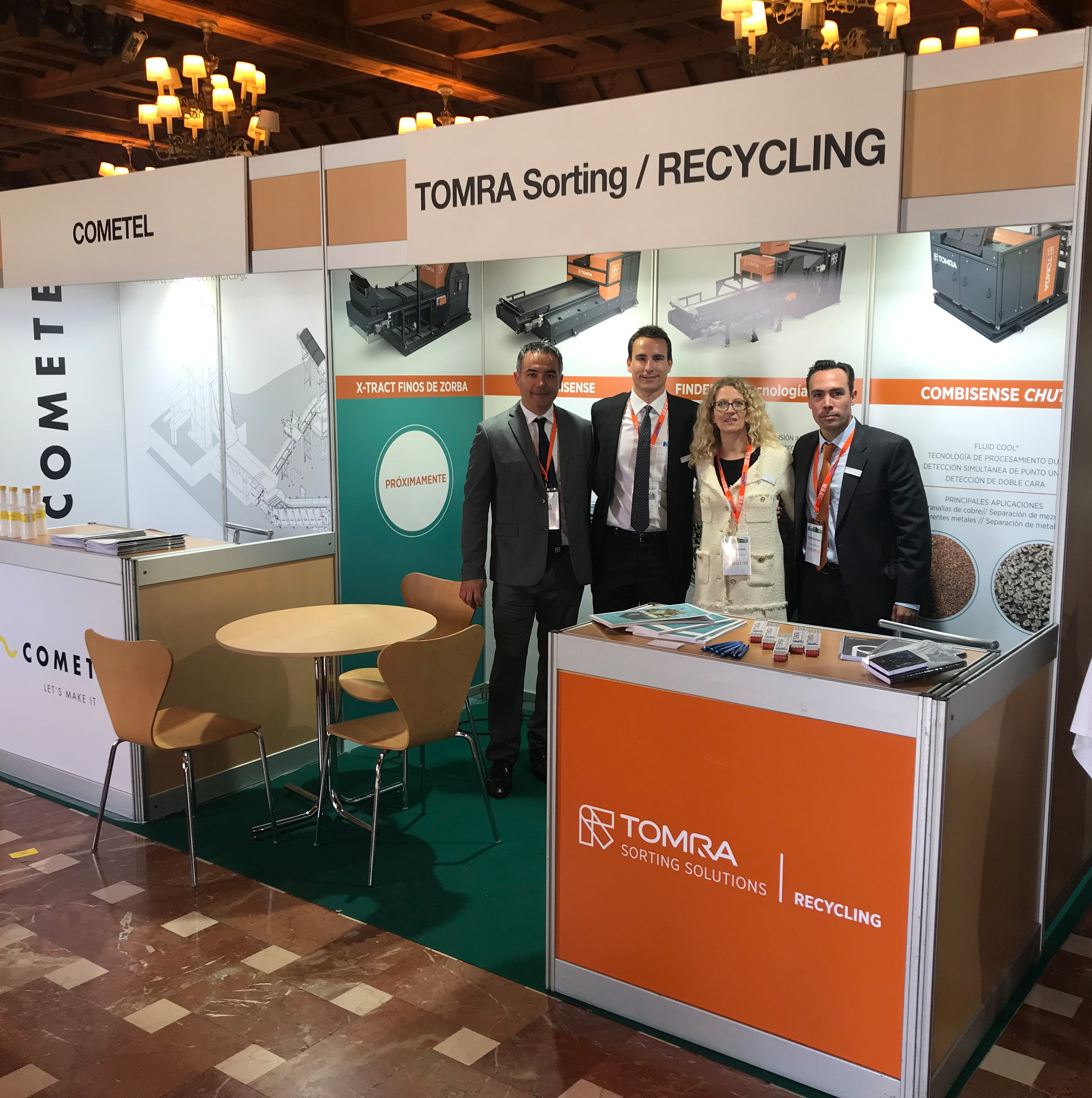 Equipo TOMRA Sorting Recycling_Congreso de la FER 2019