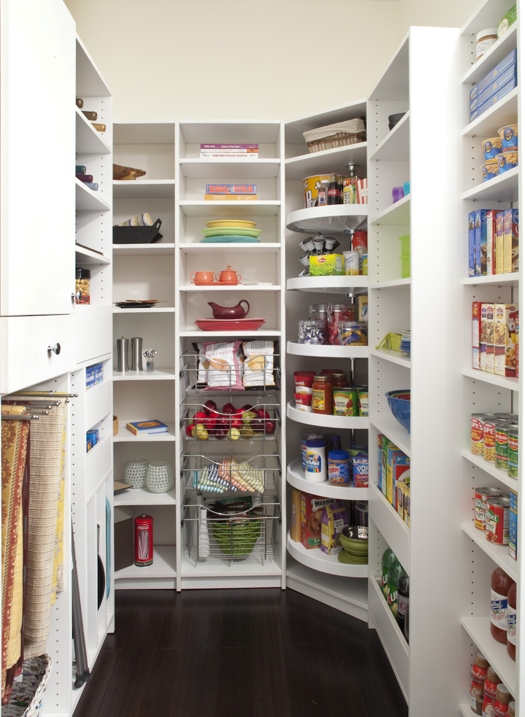 custom pantry design the closet works inc