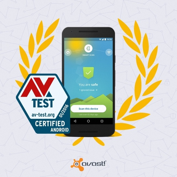 AV-Test awards Avast Mobile Security