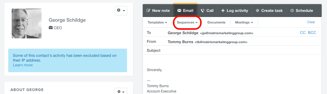 Sequences With Hubspot Sales