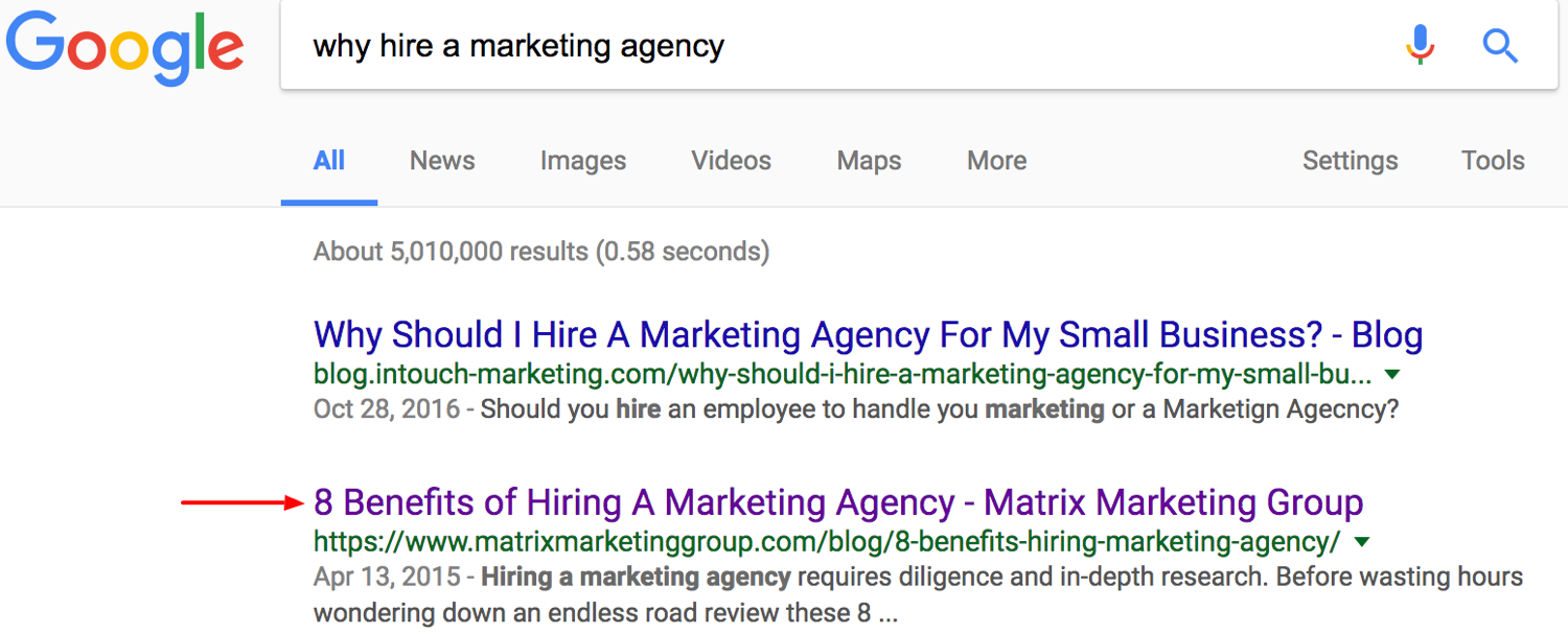 Find an agency