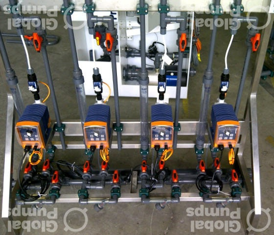 Chemical Dosing Pumps & Metering Pumps | Global Pumps