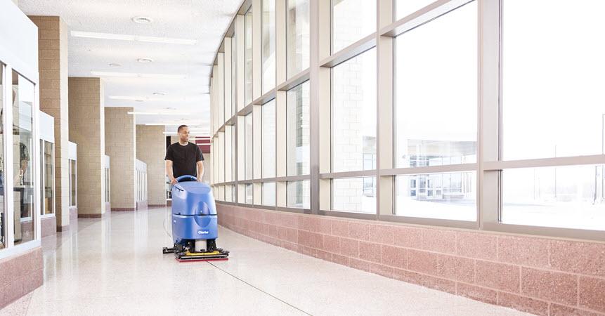 4 Best Walk Behind Automatic Floor Scrubbers Of 2020