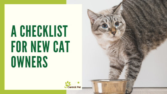 Checklist for New Cat Owners
