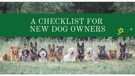 A Checklist for New Dog Owners