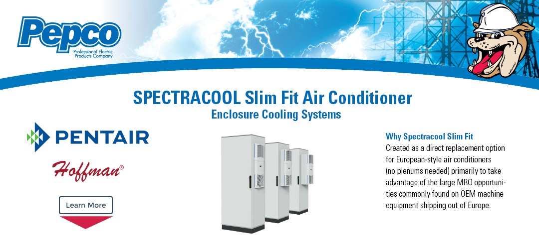 Pentair - SPECTRACOOL Slim Fit Air Conditioner