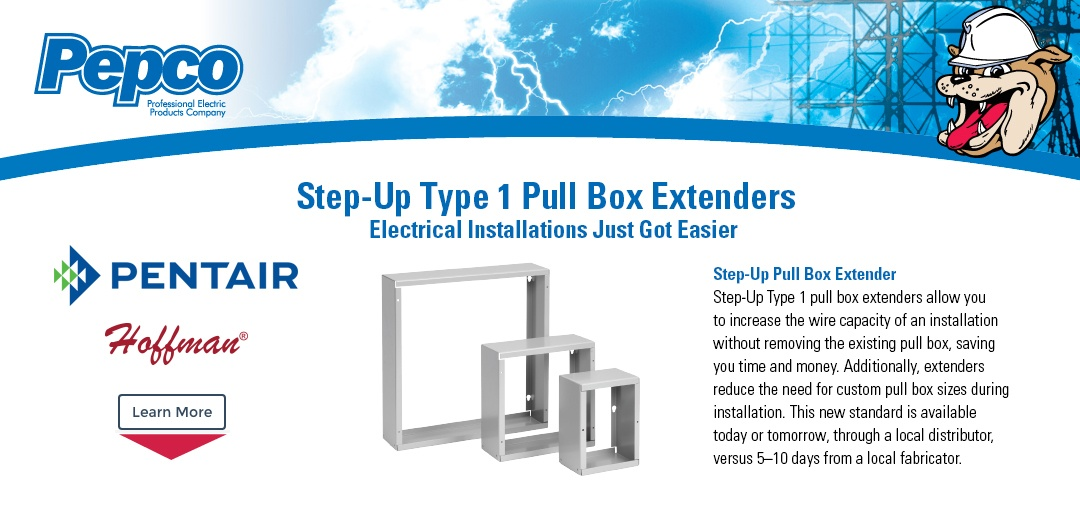 Pentair - Step-Up Type 1 Pull Box Extenders
