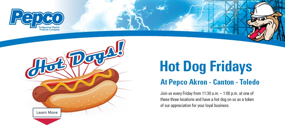 Pepco Hot Dog Fridays