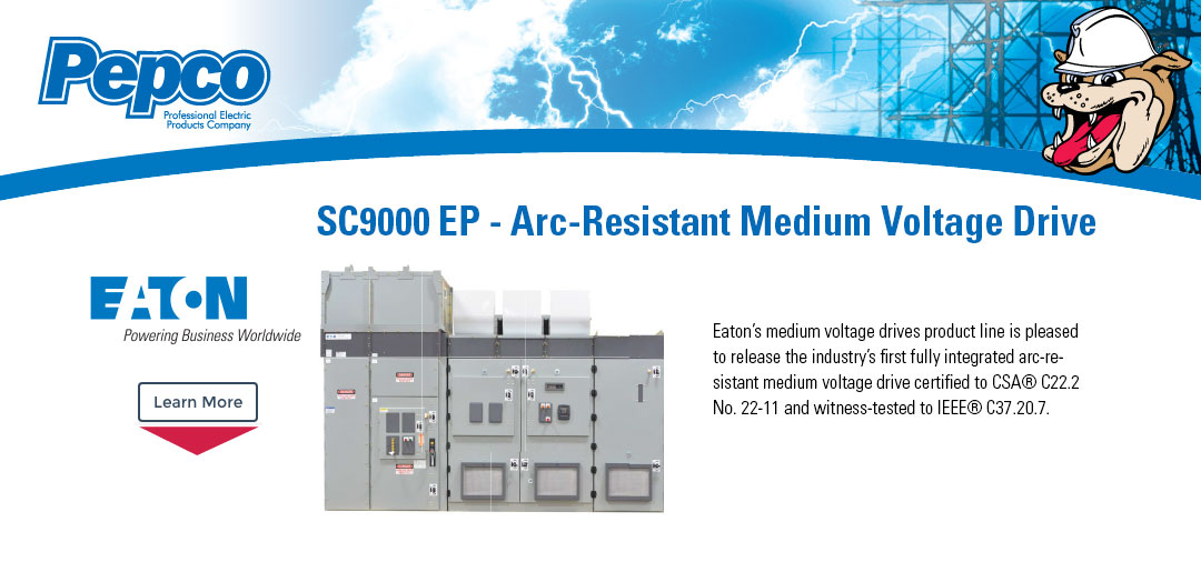 EATON SC9000 EP - Arc-Resistant Medium Voltage Drive