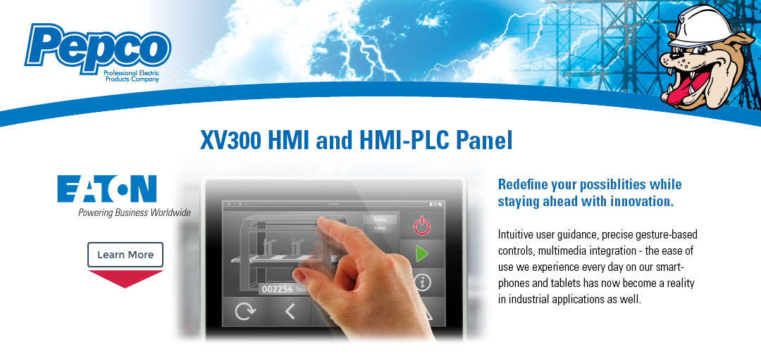 Eaton XV300 HMI and HMI-PLC Panel