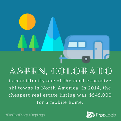 Aspen colorado has some of the most expensive property llistings