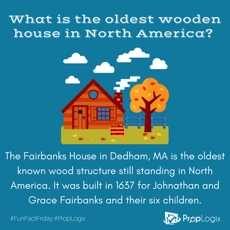 Fun Fact - Oldest House in the U.S.