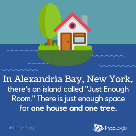 Fun Fact Friday - Just Enough Room Island