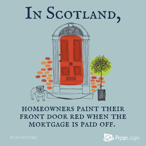 Fun Fact Friday - Scotland Red Door