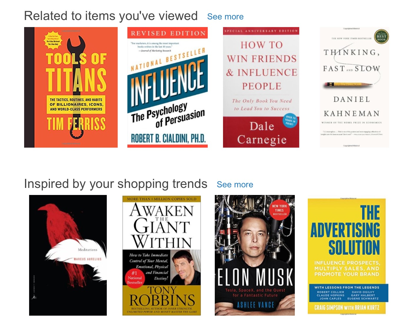 Amazon Books and Products