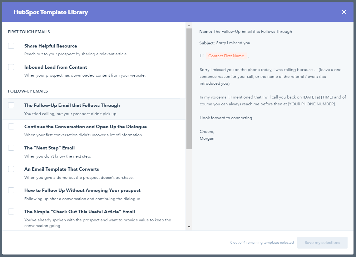 Email Termplate Library