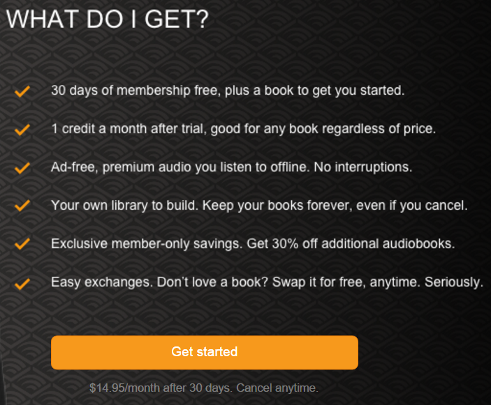 Sample Lead Magnet from Audible-Relevant Offer.png