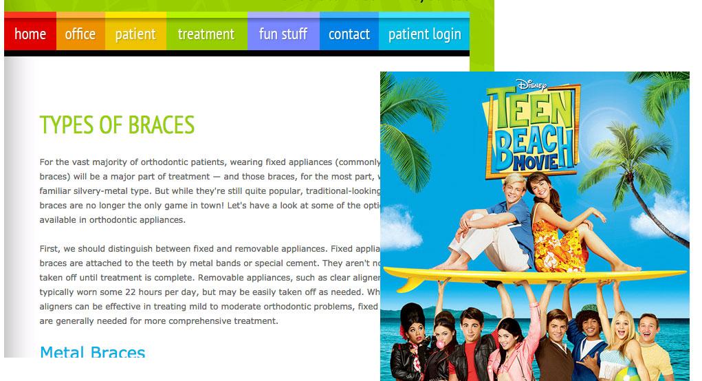 Bad Disney Movie Website
