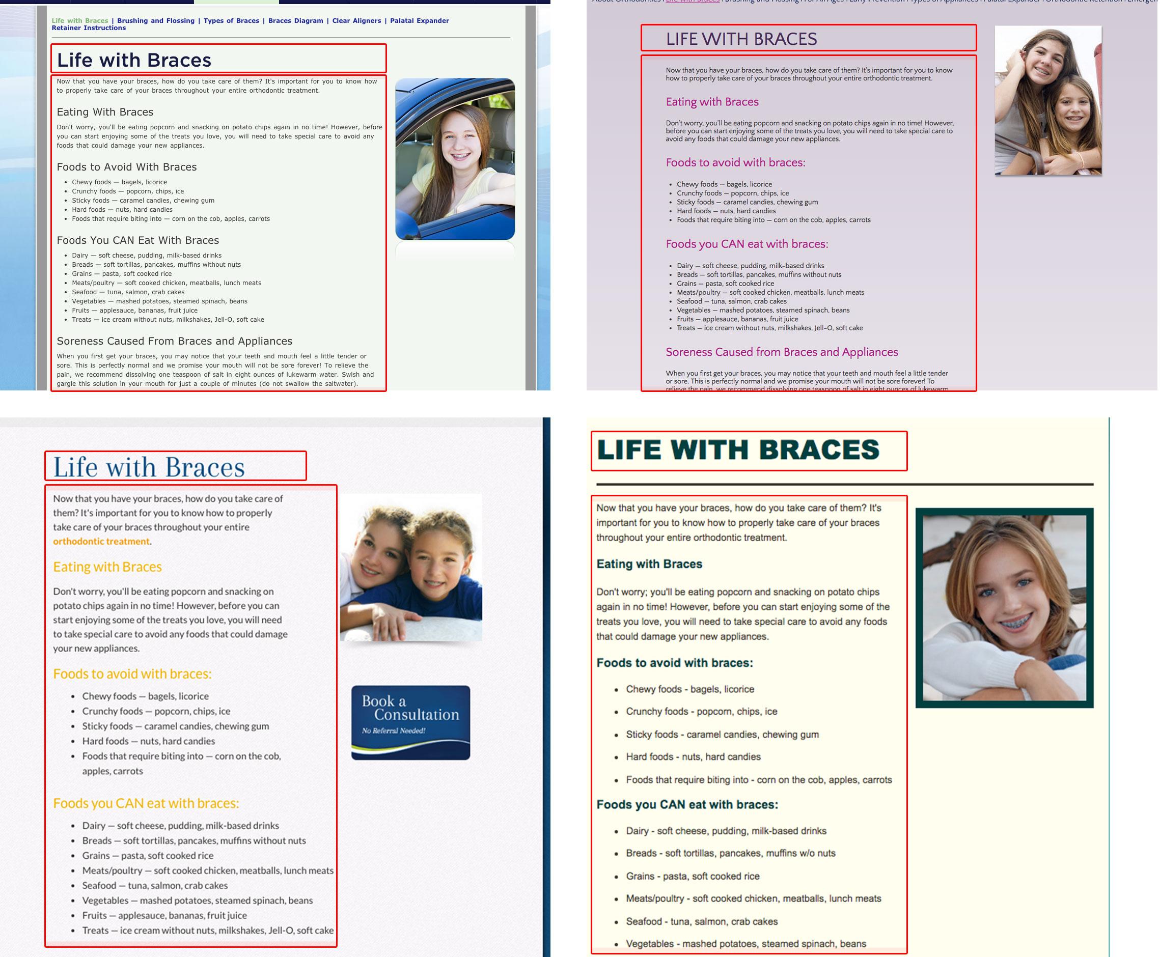 Duplicate Content Orthodontics