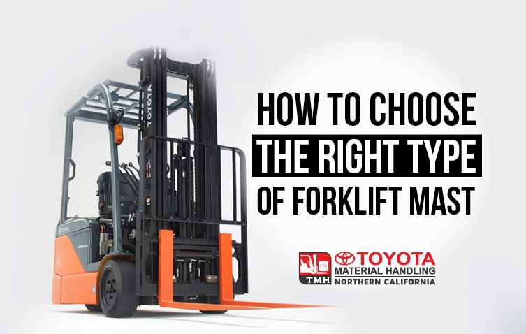 Forklift Mast Interlocking : How to choose the right type of forklift mast