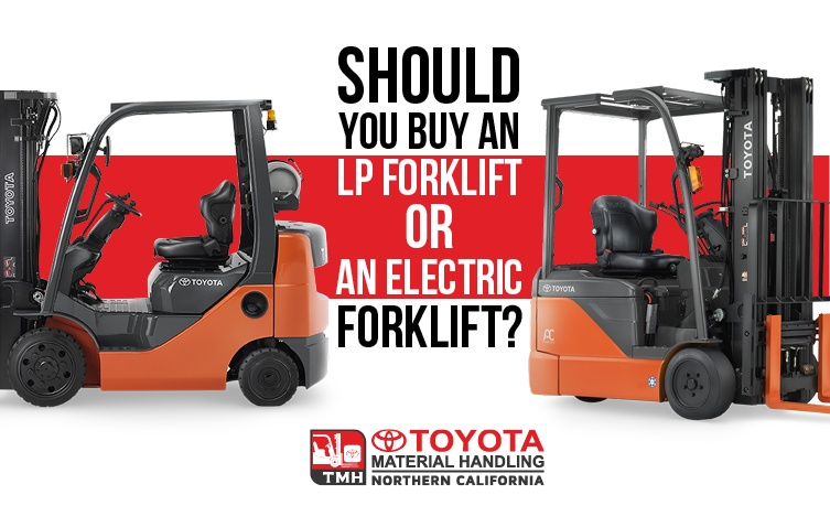 Should You Buy an LP Forklift or an Electric Forklift?